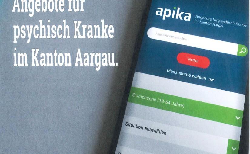 Apika – Angebote für psychisch Kranke im Kanton Aargau