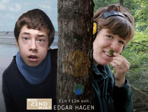 """Filmausschnitt aus dem Dokumentarfilm """"wer sind wir"""" mit den Darstellern Helena und Jonas"""