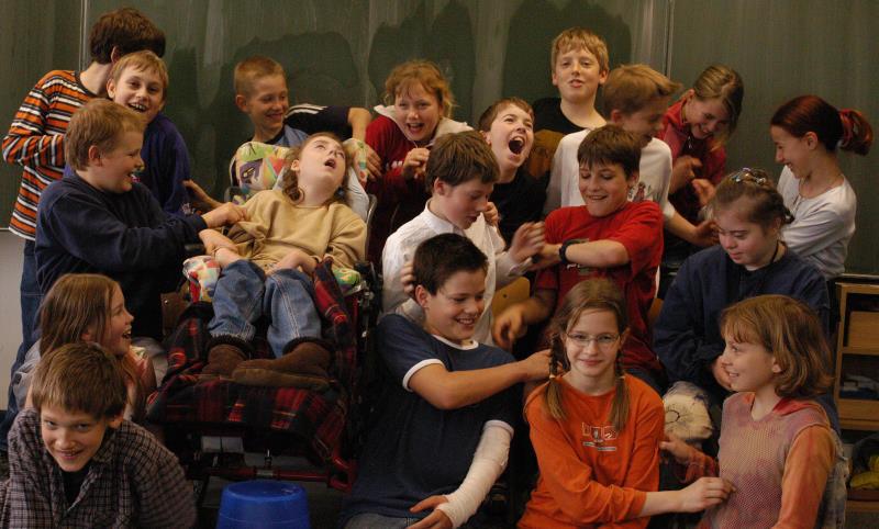 Kinder der Utopie: Klassenfoto von 2004