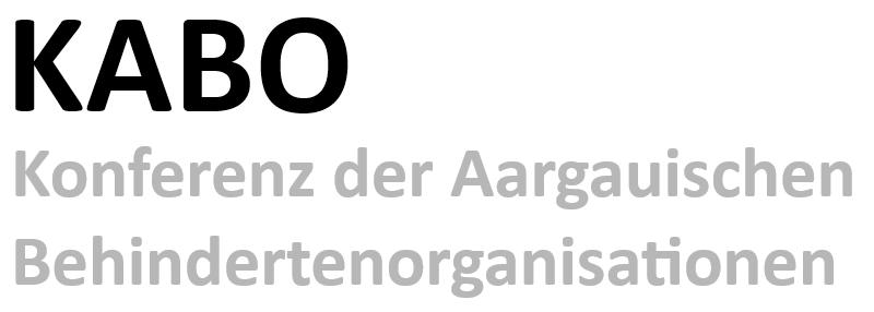 Impressum der KABO - Konferenz der Aargauischen Behindertenorganisationen